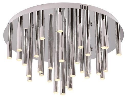 ORGANIC CHROM plafon duży z funkcją ściemniania światła C0115D Max Light