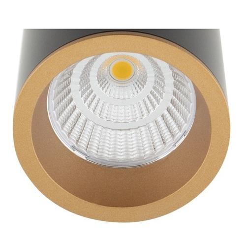 Long RC0153/C0154 GOLD pierścień ozdobny złoty Max Light