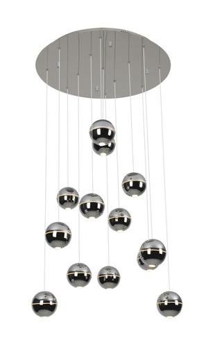 Zen 13 lampa wisząca chrom P0317 Max Light