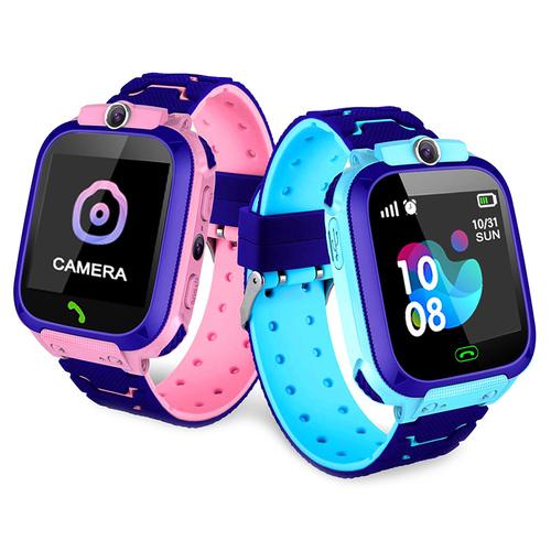 Niebieski Smartwatch dla dziecka z lokalizacją GPS