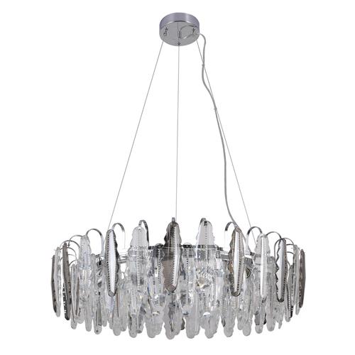 Lampa wisząca Clarissa Crystal 11 Chrom - 437013111