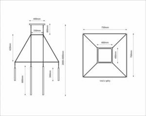 Lampa wisząca Alha H 9010- SHILO-DOHAR small 5