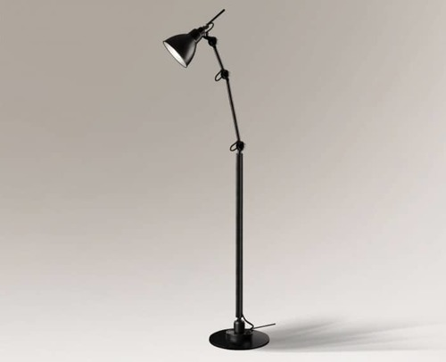 Loftowa designerska lampa stojąca Shilo Daisen 2280