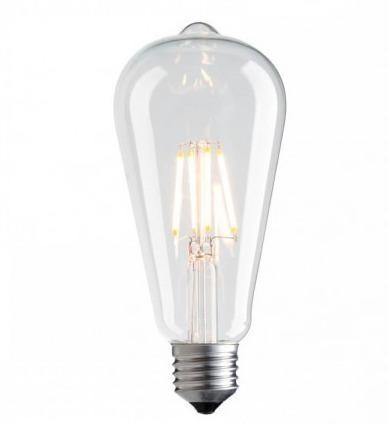 Dekoracyjna żarówka LED filament Vintage Amber 3000K 1055lm 7,5W