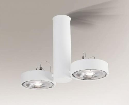 Lampa sufitowa NATORI 2261 Shilo podwójny spot GU10 50W
