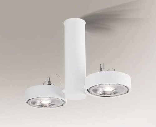 Lampa sufitowa NATORI 2261 Shilo podwójny spot G53 50W