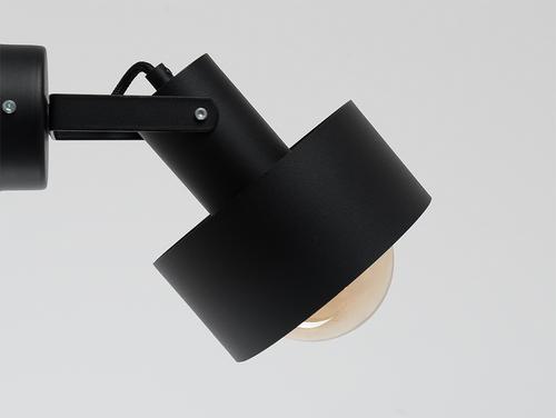 Lampa ścienna FAY WALL PLUS - czarny