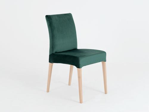 Krzesło do jadalni nowoczesne DIANA buk, awokado