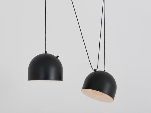 Lampa wisząca POPO L 2 - czarny