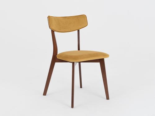Krzesło do pokoju TONE SOFT orzech, marakuja
