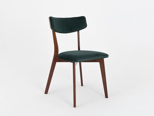 Krzesło designerskie TONE SOFT orzech, awokado