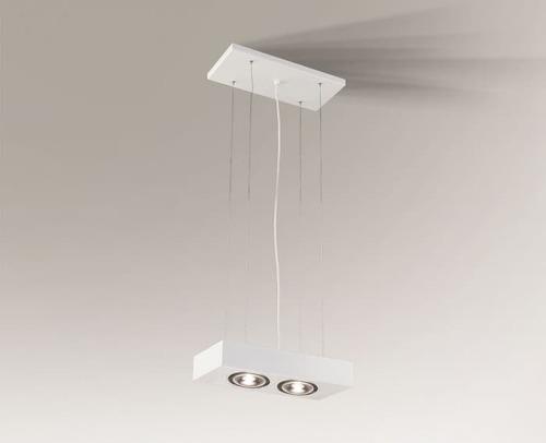 Lampa wisząca do kuchni KOGA H 5614 Shilo G53 AR111 50W