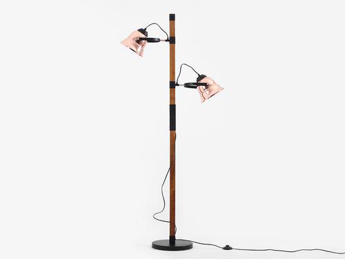 Lampa podłogowa SHERLOCK FLOOR - miedziany