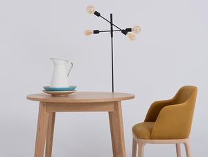 Krzesło fotel LULU ARMS, buk, marakuja small 1