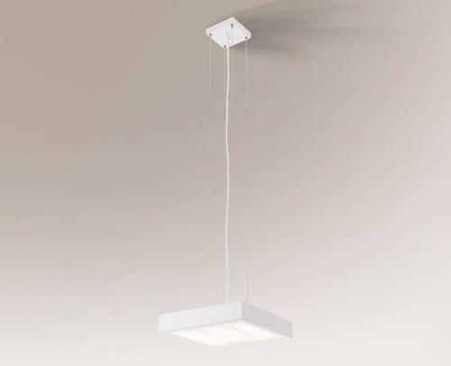 Lampa wisząca kwadratowa NOMI 5540 Shilo 2G11 TC-L 18W