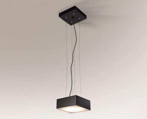 Lampa kwadratowa ZAMA 5559 Shilo GX53 8W