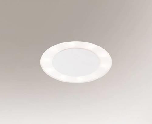 Oprawa wpuszczana BANDO 3320-B Shilo 6xE27 9W Biały