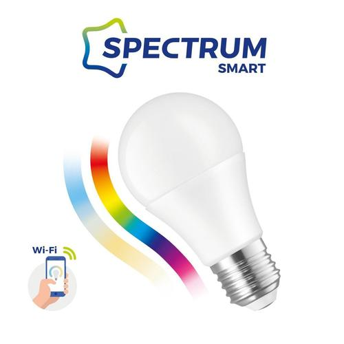 Led Gls 9w E-27 230v Rgbw+Cct+Dim Wi-Fi Spectrum  Smart