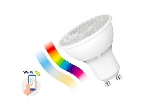 Led Gu10 5w 230v Rgbw + Cct + Dim Wi-Fi Spectrum   Smart