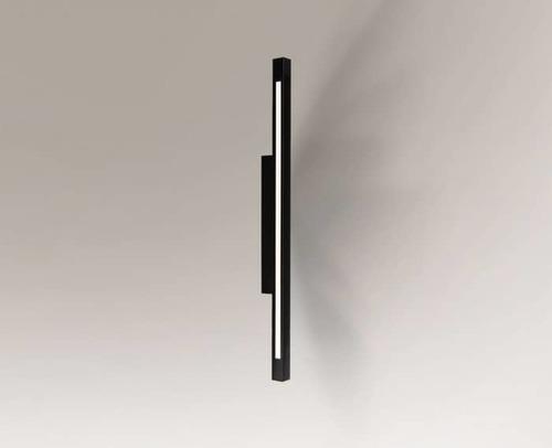 Kinkiet czarny podłużny Shilo OTARU 4477 LED wymienne