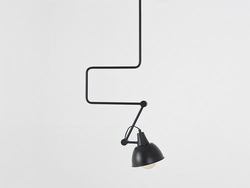 Lampa wisząca COBEN - czarny