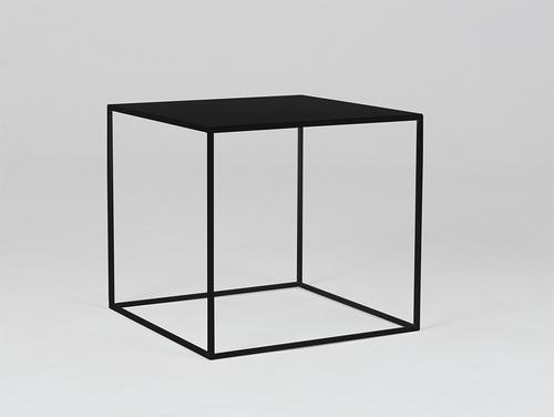 Stół kawowy TENSIO METAL 50 - czarny