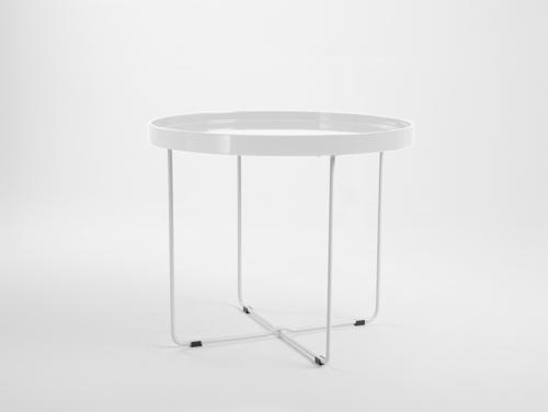 Stół kawowy DAVID - biały