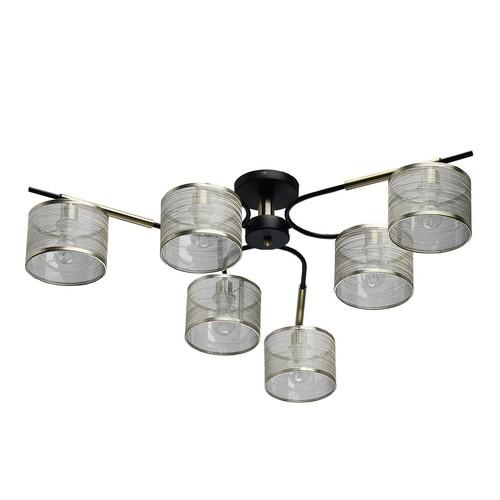 Lampa wisząca Conrad Megapolis 6 Mosiądz - 667011506