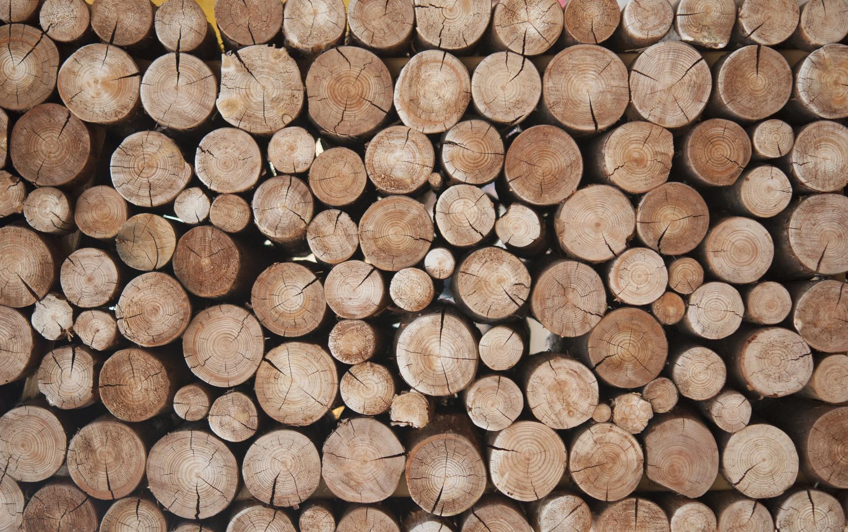 Fototapeta do kuchni - belki drewna, naturalne kolory, styl skandynawski