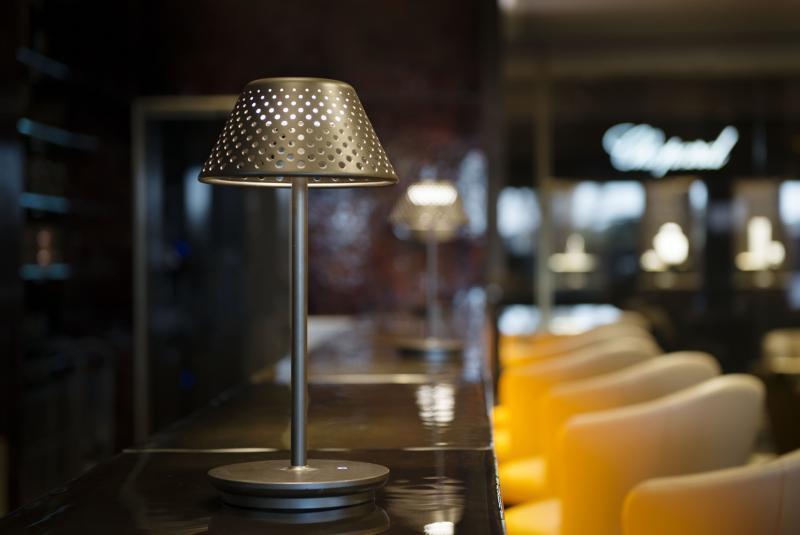 Lampa stołowa Platek Mesh