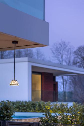 Downlight Platek Mesh - lampa zewnętrzna 48cm - 3000K