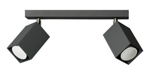 Designerski Plafon Nero 2 Czarny