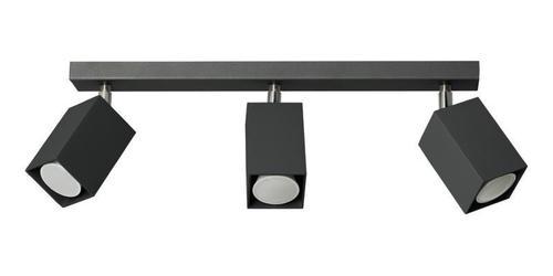 Nowoczesny Plafon Nero 3 Czarny