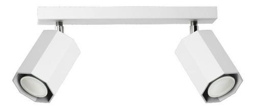 Designerski Plafon Hex 2 Biały