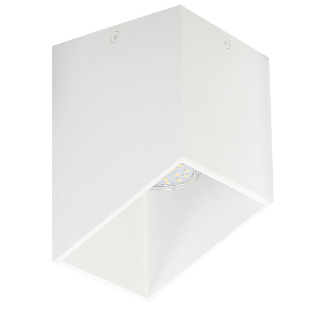 Nowoczesny Plafon Rubik Biały