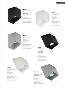 Designerski Plafon Rubik Popiel small 3