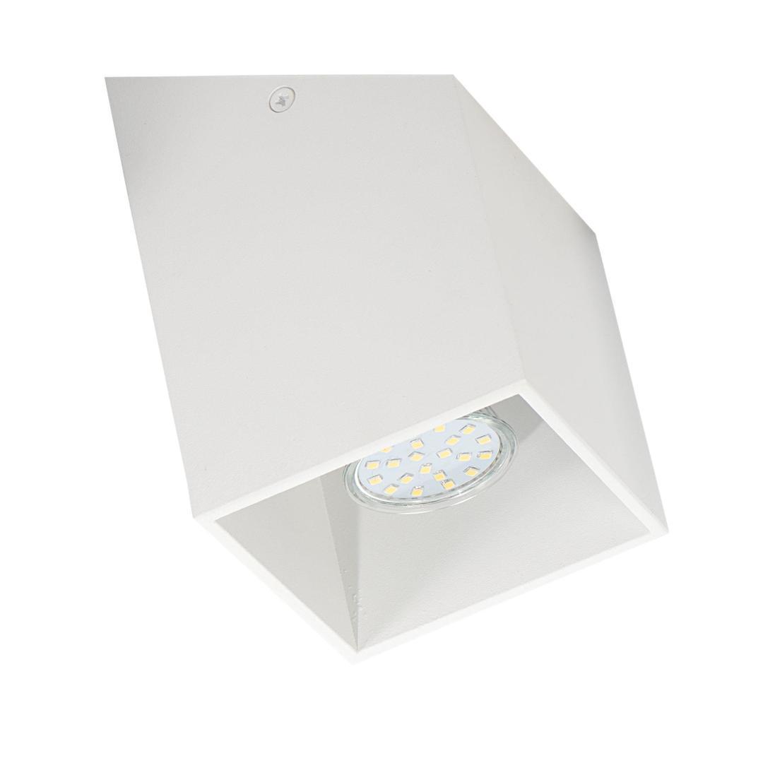 Nowoczesny Plafon Rubik S Biały