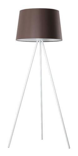 Designerska Lampa Stojąca Lea Brąz