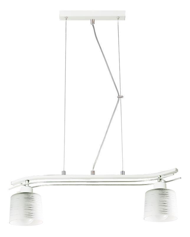 Klasyczna Lampa Wisząca Olimp 2 Biała