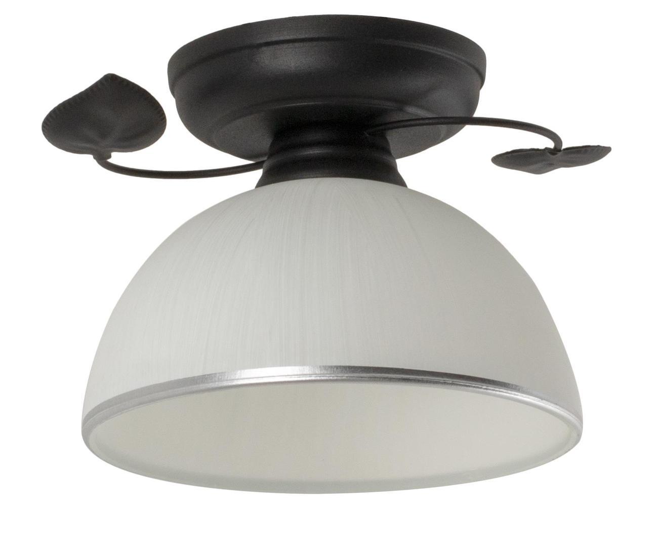 Klasyczna Lampa Sufitowa Tanzania A Czarna