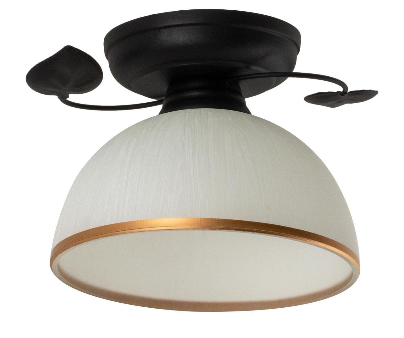 Klasyczna Lampa Sufitowa Tanzania B Czarna