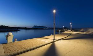 Latarnia ogrodowa Platek - TRIS COB LED 3000K small 0