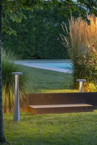 Słupek ogrodowy Platek BLEND - 8 LED 3000K matowy small 2