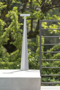 Słupek ogrodowy Platek BLEND - 8 LED 3000K matowy small 4