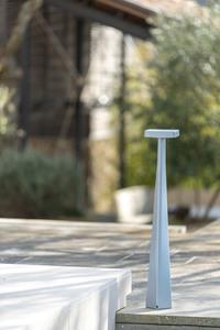 Słupek ogrodowy Platek BLEND - 8 LED 3000K matowy small 9