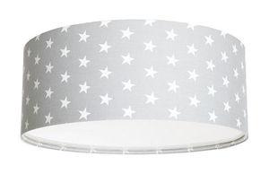 Plafon do pokoju dziecięcego Luminance szary w gwiazdki E27 60W LED small 0