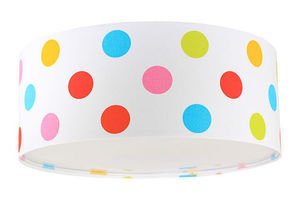 Lampka dla dzieci - plafon Luminance E27 60W LED kolorowe kropki small 1