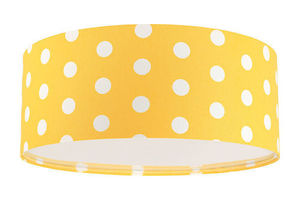 Lampa sufitowa dziecięca - plafon Luminance E27 60W LED złocisty / biały small 1