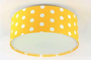 Lampa sufitowa dziecięca - plafon Luminance E27 60W LED złocisty / biały small 0