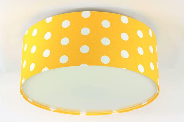 Lampa sufitowa dziecięca - plafon Luminance E27 60W LED złocisty / biały